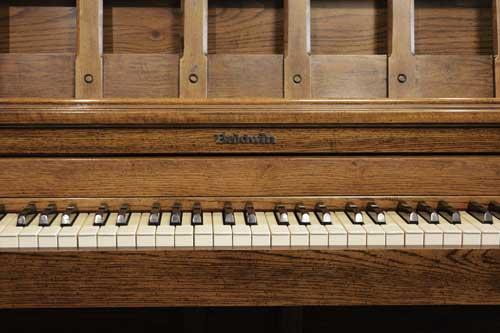 Baldwin Consolette piano keyboard at 88 Keys Piano Warehouse