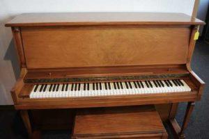 Sargent studio upright piano at 88 Keys Piano Warehouse