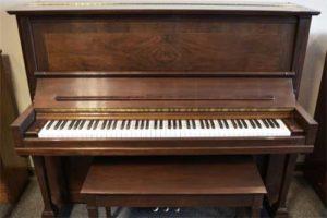 Steinway model K upright piano at 88 Keys Piano warehouse