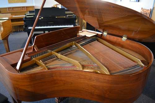 Thomas grand piano soundboard at 88 Keys Paino warehouse