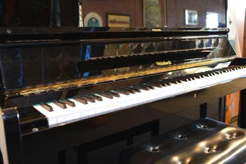 Weinbach studio piano keyboard at 88 Keys Piano Warehouse