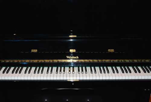 Weinbach studio piano logo at 88 Keys Piano Warehouse